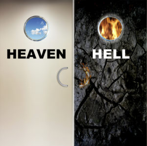 two doors to heaven and to hell